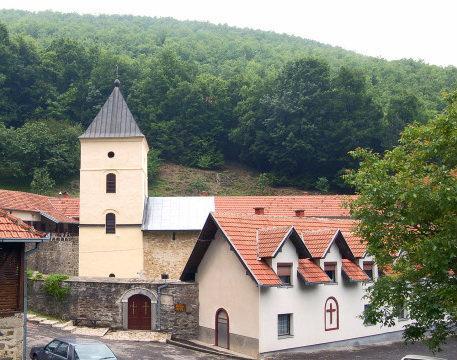 Manastir Blagoveštenje sa crkvom Svete Blagovesti Srbija