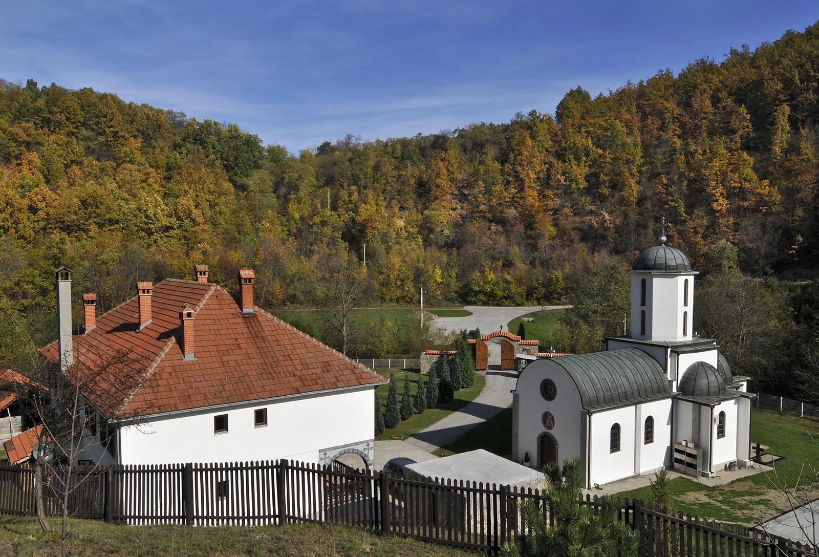 Manastir Denkovac sa crkvom Uspenje Presvete Bogorodice Srbija
