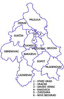 Beogradski Okrug Srbija