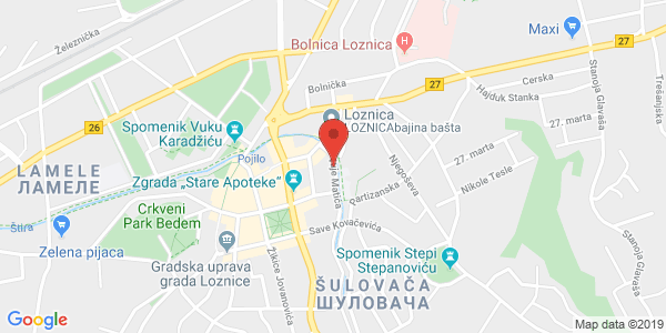 PRIVATE GYNECOLOGY CLINIC VUCICEVIC, 6 Vuje Matica st., 2nd floor, Loznica