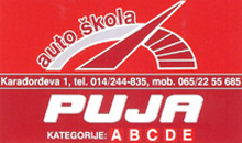 TOWING SERVICE AND DRIVING SCHOOL PUJA Valjevo