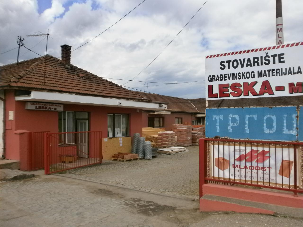 WAREHOUSE OF BUILDING MATERIAL LESKA-M Construction companies and services Leskovac - Photo 1
