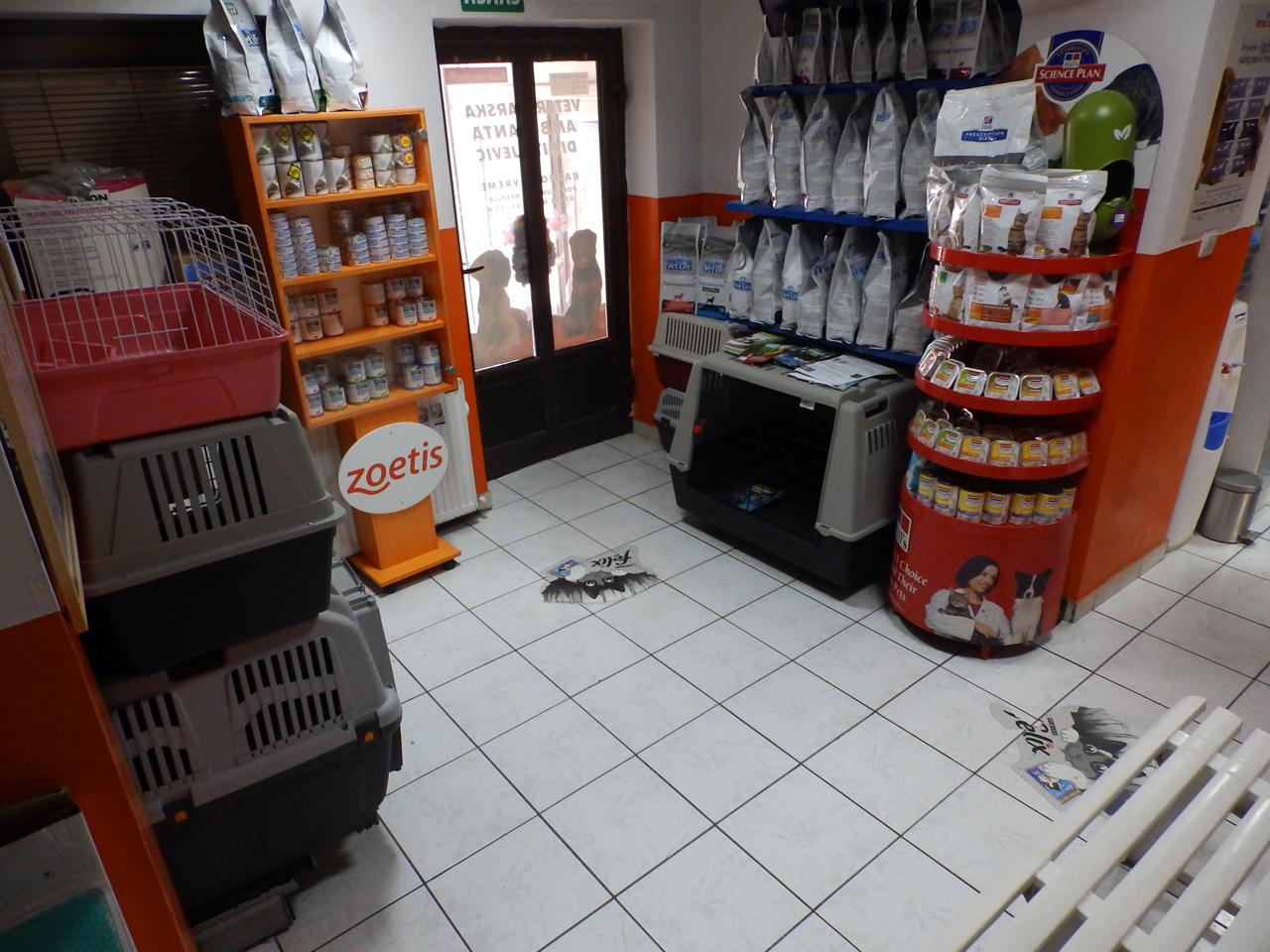 VS DIMITRIJEVIĆ VET DOO Pet shop Požarevac