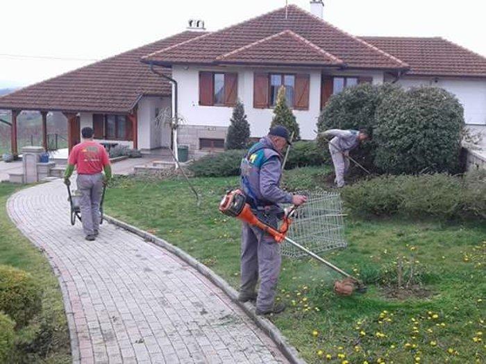 ТИМ МАX Расадници, уређење баште Горњи Милановац