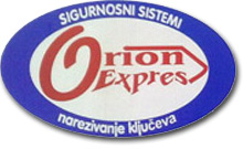 ORION EXPRES Sigurnosni sistemi Zaječar