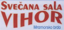 SVEČANA SALA VIHOR Restorani Niš