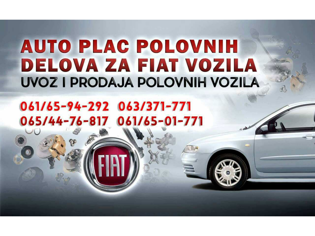 FIAT AUTO PARTS AND SERVICE Auto wastes Pozega - Photo 1