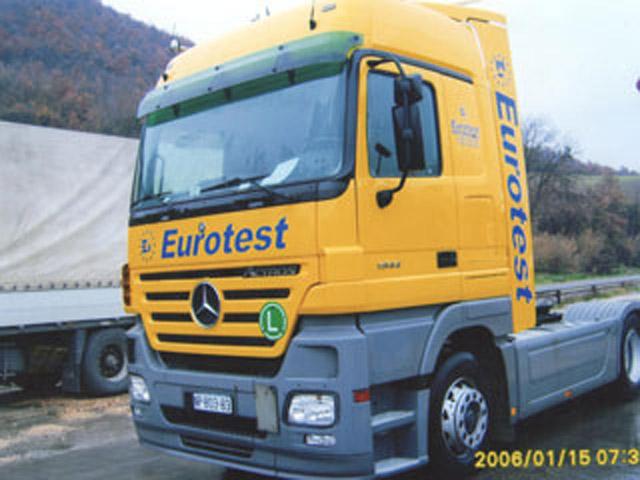 EUROTEST DOO Špedicija, drumski transport Novi Pazar