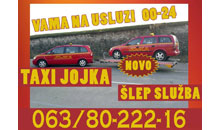 TAXI AND TOWING SERVICE JOJKA Kladovo