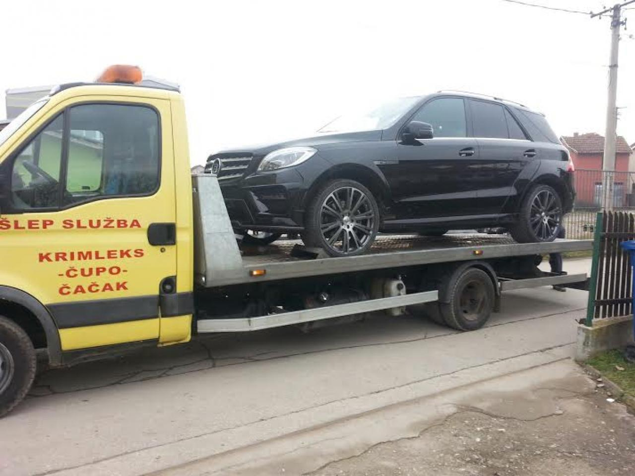 KRIMLEKS CUPO DOO Towing services Cacak - Photo 1