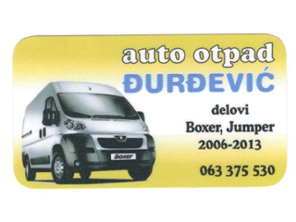 AUTO OTPAD ĐURĐEVIĆ Polovni auto delovi Šabac