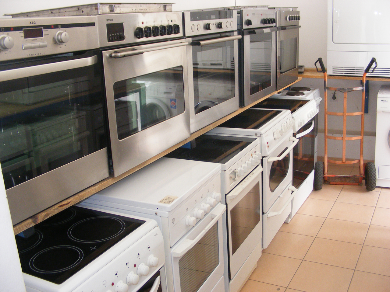 USED WHITE GOODS CAN - COM Electrical equipment, service and sales Pancevo - Photo 11