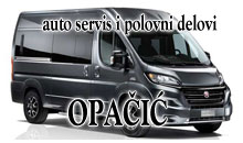 CAR SERVICE AND SPARE PARTS OPACIC Sabac