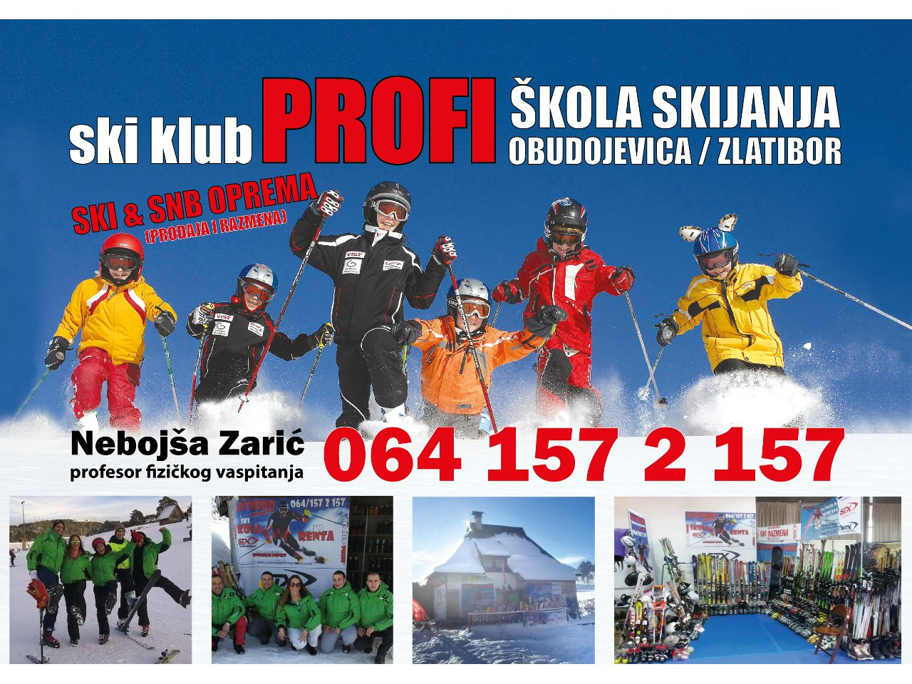 SKI SCHOOL PROFI Ski schools Zlatibor - Photo 1