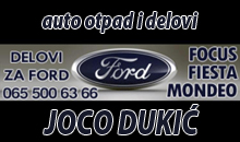 CAR WASTE AND CAR PARTS JOCO DUKIC Sabac
