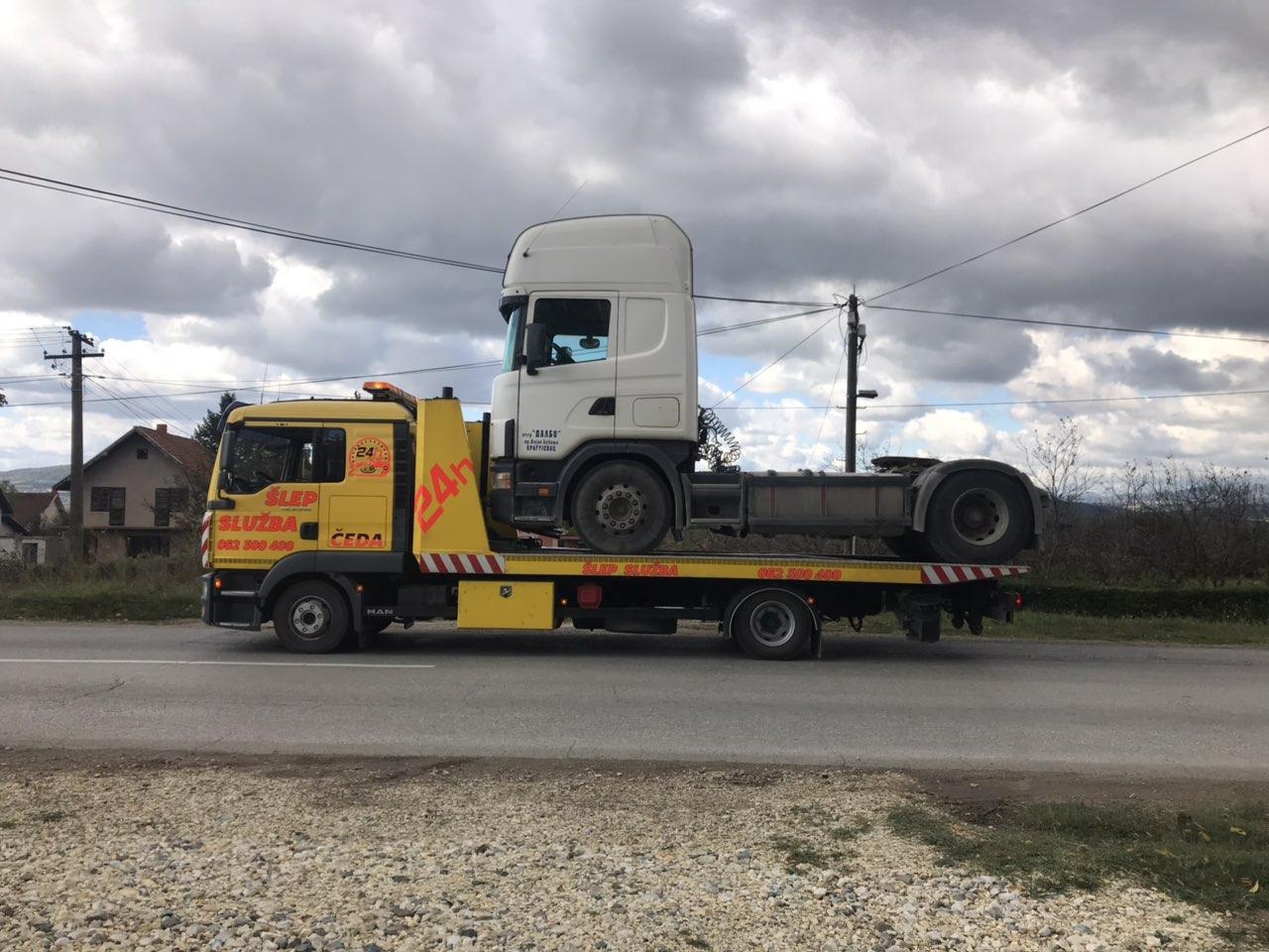 ŠLEP SLUŽBA ČEDA KRAGUJEVAC Autobuski i kombi prevoz Kragujevac