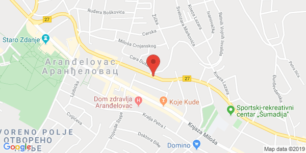 BMW CAR PARTS AND TOWING SERVICE CITY MAP, nn Kneza Mihaila st., Arandjelovac