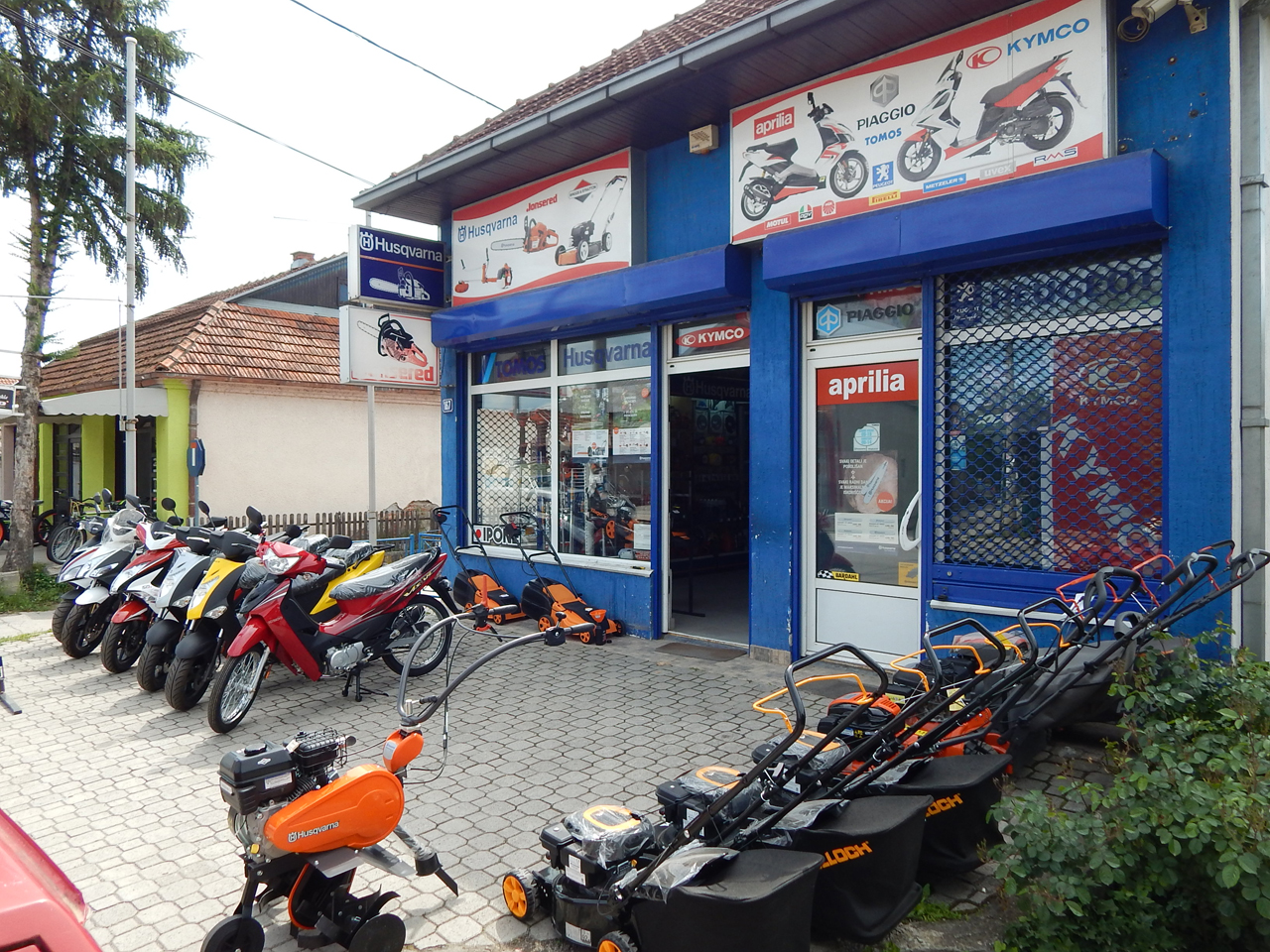 TOMOS HUSQVARNA Motorcycles, scooters Cacak - Photo 1