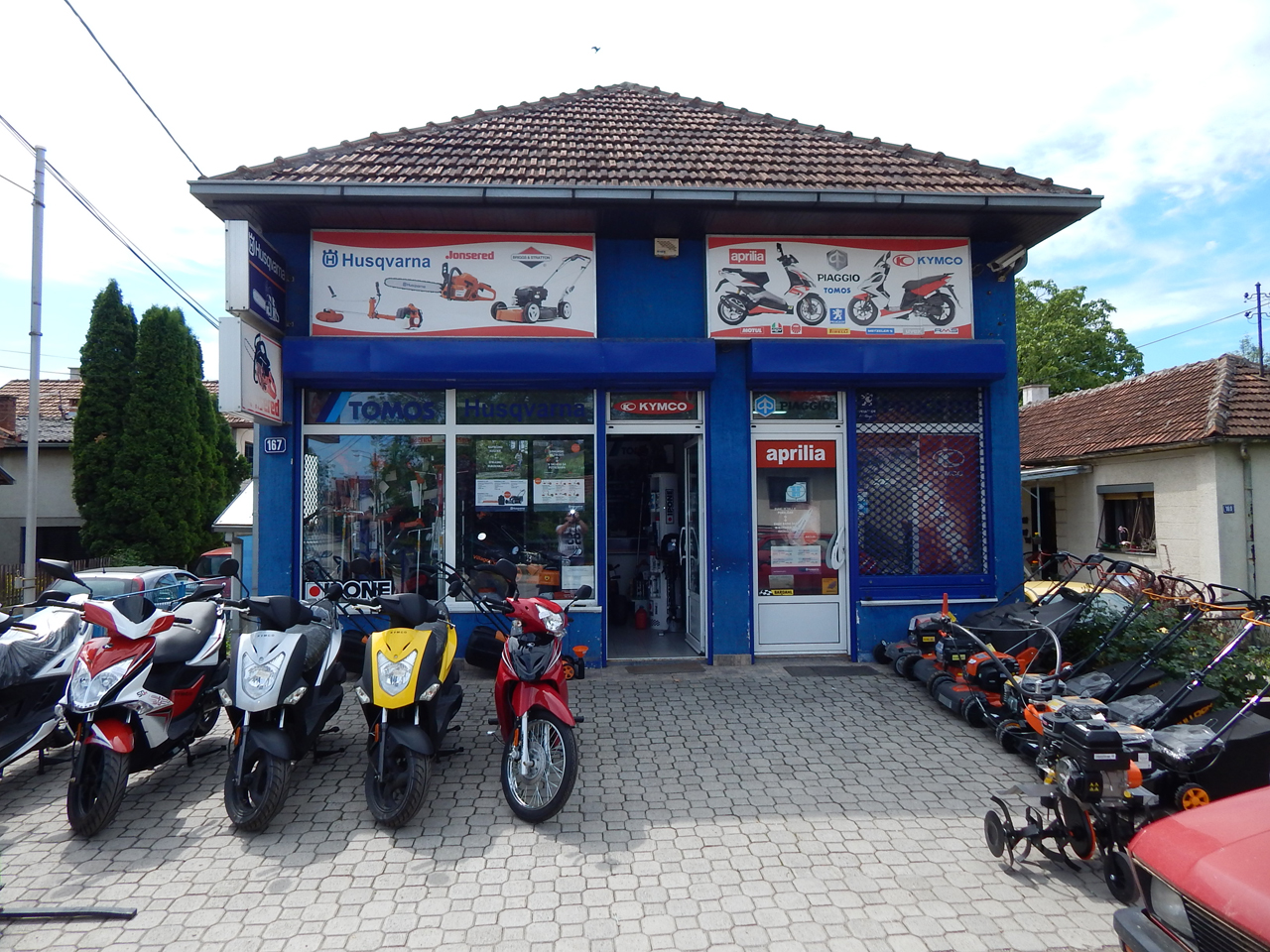 TOMOS HUSQVARNA Motorcycles, scooters Cacak - Photo 2