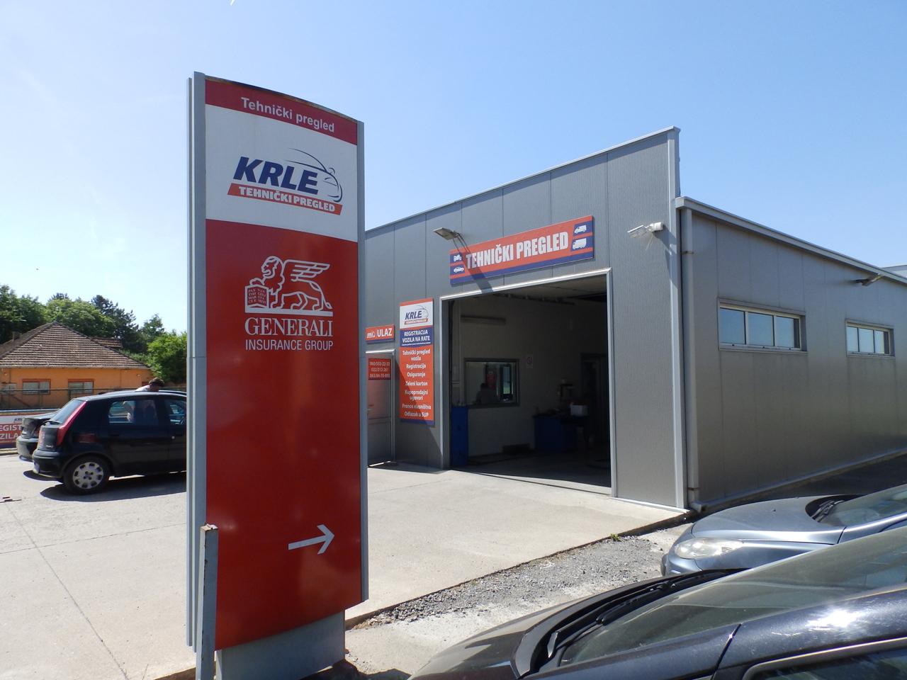 TEHNIČKI PREGLED KRLE Registracija vozila, tehnički pregled Stara Pazova