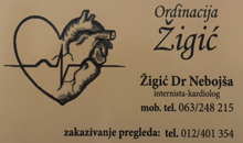 SPECIALIST INTERNISTIC OFFICE ZIGIC Pozarevac