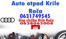 CAR PARTS AUDI END TOWING SERVICE HICA RACA Kragujevac