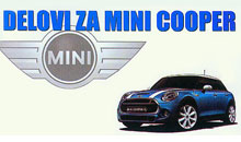 SPARE PARTS SELLING FOR MINI COOPER Sremska Mitrovica