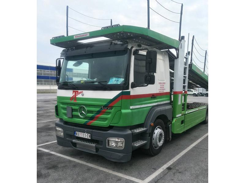 АУТО ПРЕВОЗ ТОША ШПЕД 034 Шпедиција, друмски транспорт Крагујевац