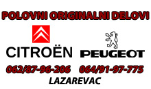 CITROEN AND PEUGEOT USED CAR PARTS Lazarevac