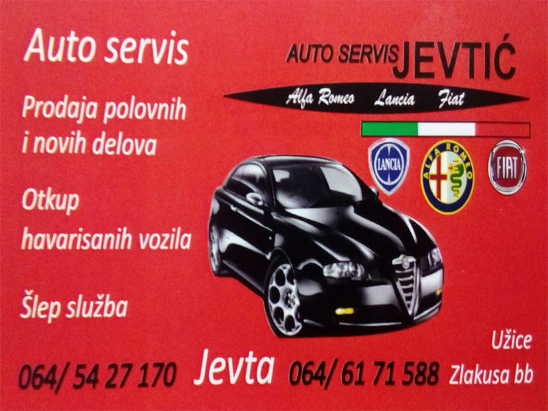 CAR SERVICE AND TOWING SERVICE JEVTIC Auto parts Uzice - Photo 1