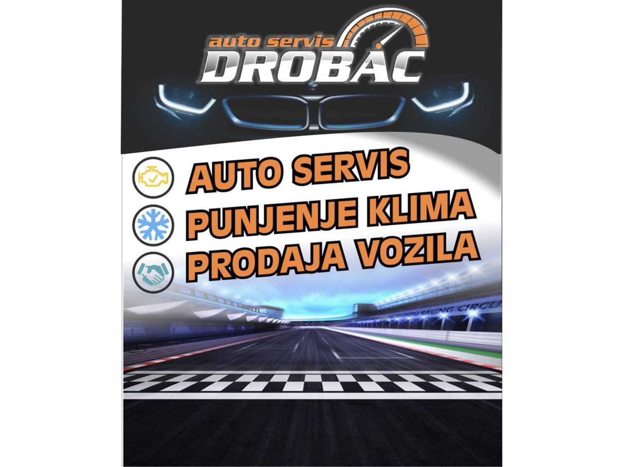 CAR LOT AND CAR SERVICE DROBAC Tire repair Mladenovac - Photo 1
