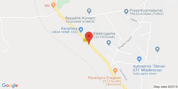 CAR LOT AND CAR SERVICE DROBAC, 77v Svetolika Rankovica st., Mladenovac