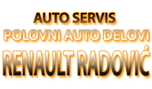 CAR SERVICE AND USED CAR PARTS RENAULT RADOVIC Mladenovac