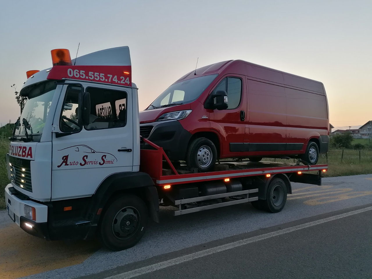 TOWING SERVICE SIMIC Auto services Valjevo - Photo 1