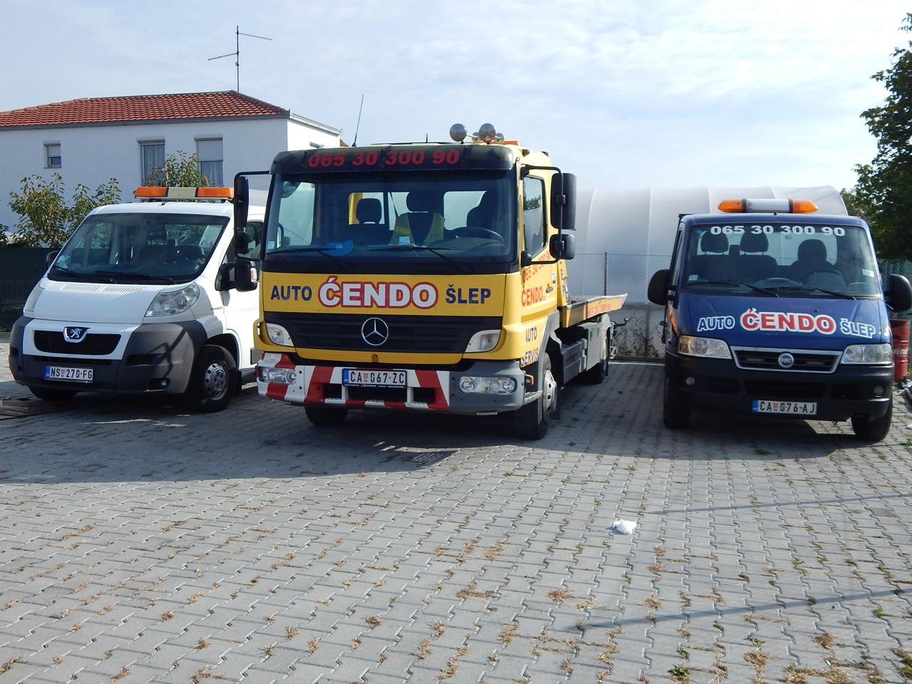 CAR SERVICE CENDO Shipping, road transport Cacak - Photo 3