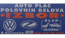 AUTO PLAC IZBOR Polovni auto delovi Čačak