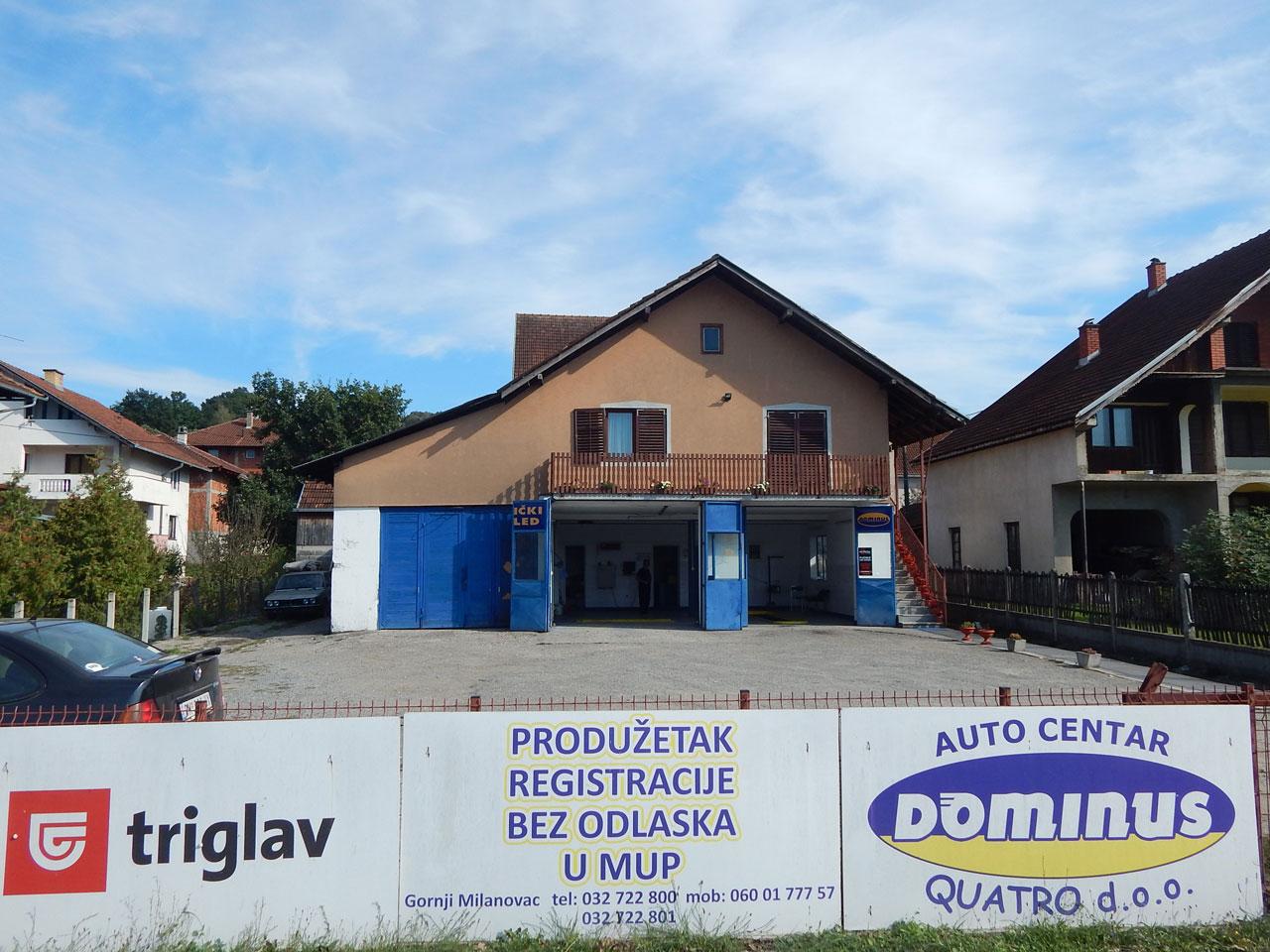 TEHNIČKI PREGLED DOMINUS Registracija vozila, tehnički pregled Gornji Milanovac