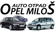 CAR WASTE OPEL MILOS