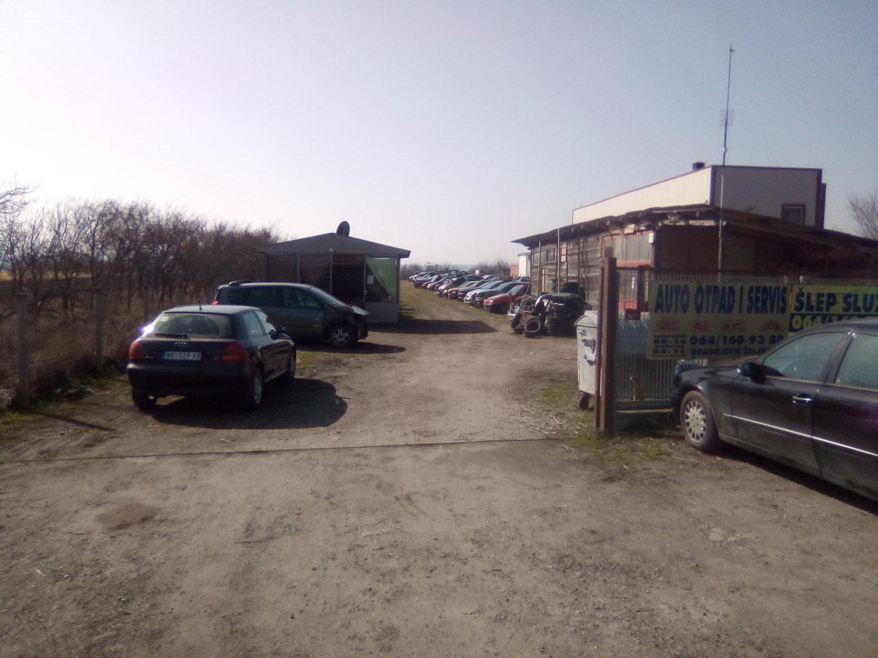 AUTO OTPAD ŽEKA Auto otpadi Novi Sad