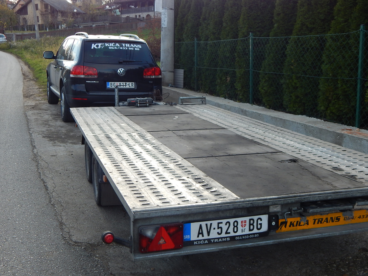 TOWING SERVICE KICA TRANS Towing services Mladenovac - Photo 2