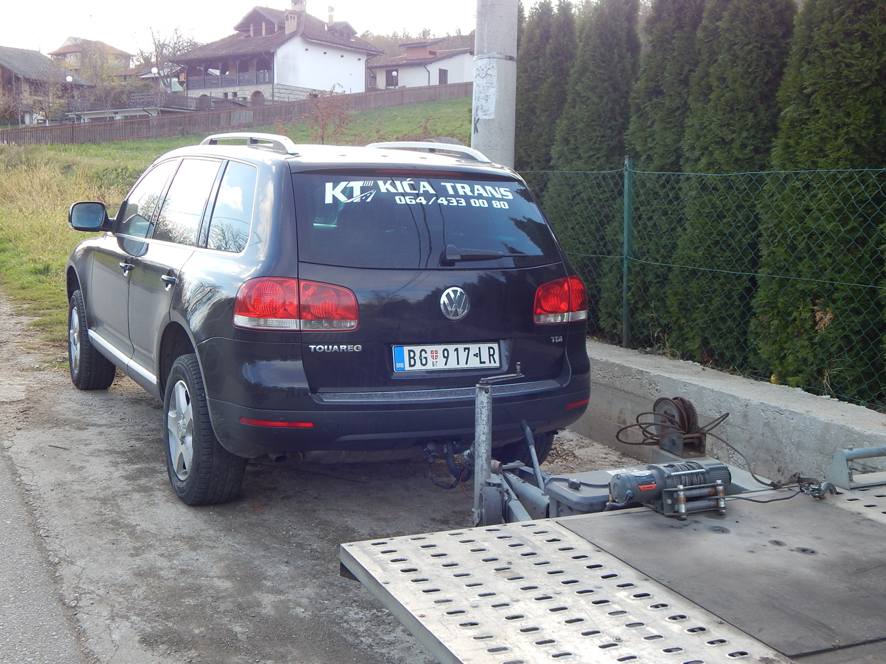 TOWING SERVICE KICA TRANS Towing services Mladenovac - Photo 3