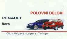 AUTO SERVICE AND RENAULT PARTS BORO Loznica