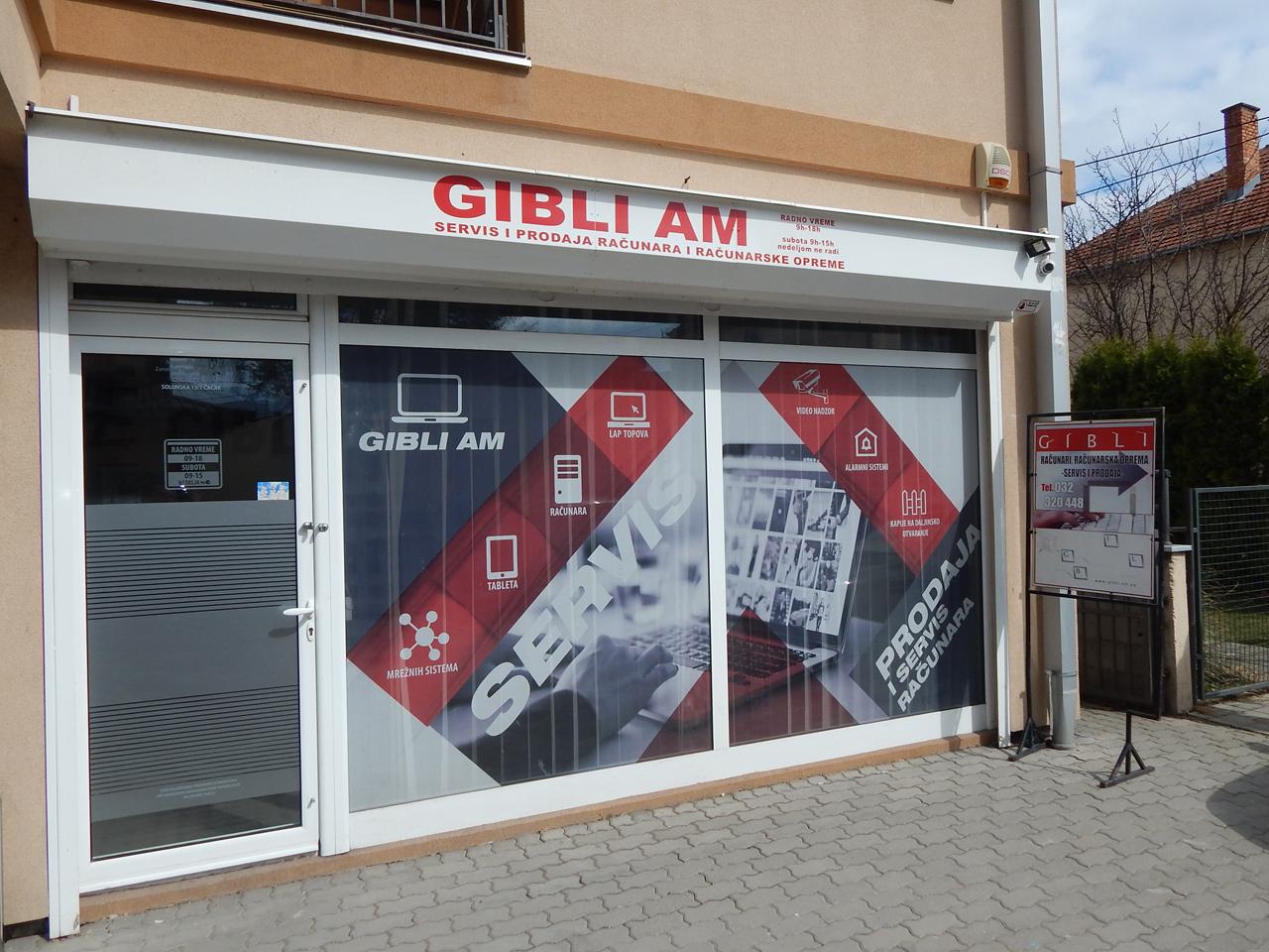 GIBLI AM Sigurnosni sistemi Čačak