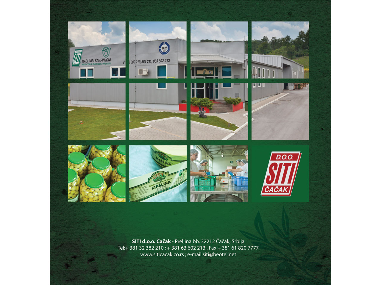 SITI LTD Production fruit and vegetables Cacak - Photo 1