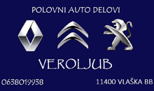CAR PARTS PEUGEOT, CITROEN, RENAULT Mladenovac