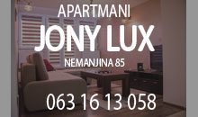 APARTMENTS  JONY LUX Uzice