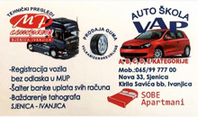 DRIVING SCHOOL  TEHNICAL INSPECTION AND TRUCK SALES  VAP Ivanjica
