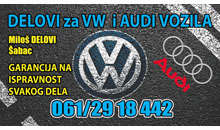 CAR WASTE VOLKSWAGEN AND AUDI  Sabac