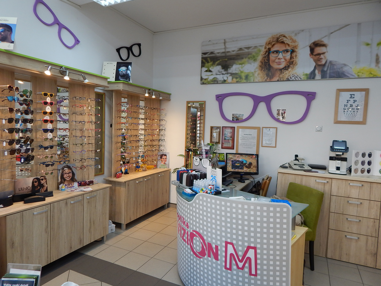 VIZION M OPTIKA Optic shops Cacak - Photo 4