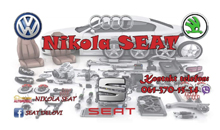 CAR WASTE NIKOLA SEAT Sabac